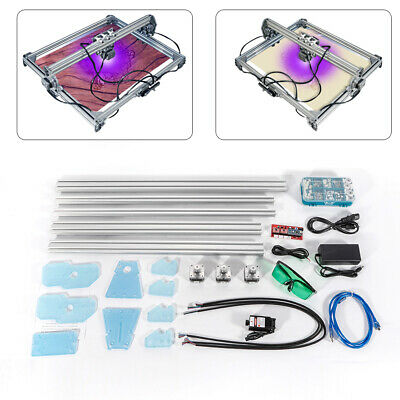 50x65cm Cnc 2000mw Laser Engraving Machine 2axis Dc 12v Diy Engraver Desktop Usa