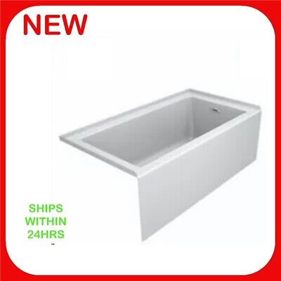 "Jacuzzi 60"" x 32"" Acrylic Soaking Bathtub Right Hand Drain - White"