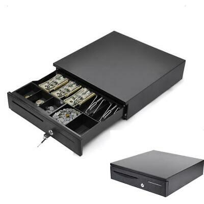 Cash Register Drawer Box 5 Bill 5 Coin Tray Compatible Works Wpos Printers Rj11