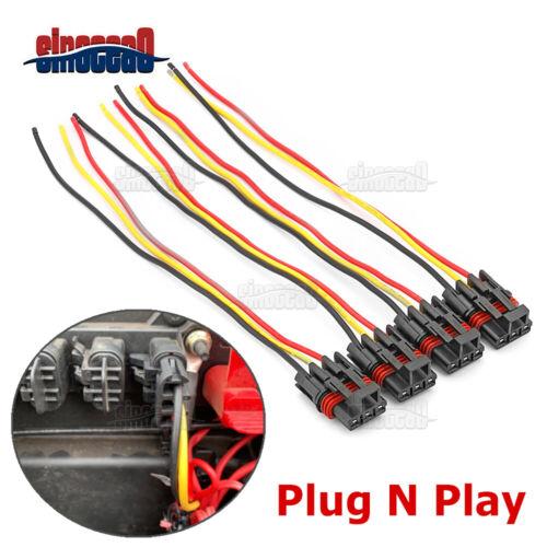 4PCS Pulse Power Plug Pigtail Connector For Polaris Ranger Crew XP1000 & RZR RS1
