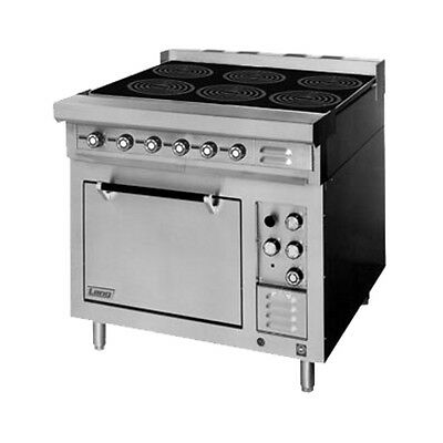 """Lang RI36S-ATE 36"""" Electric Induction Range W/ 6 8"""" Induction Hobs"""