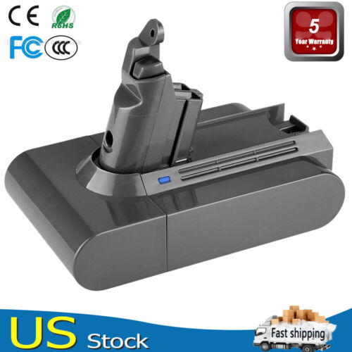 Replace For Dyson V6 21.6V Li-ion Battery DC58 DC59 Animal DC72 Vacuum Cleaner