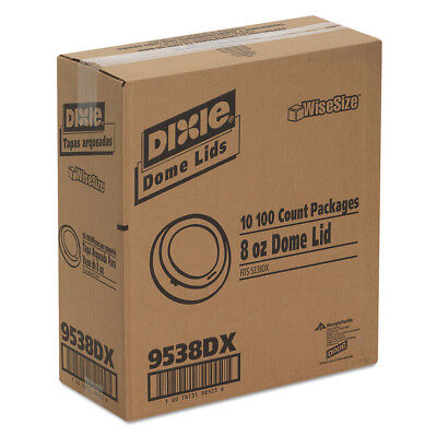 Dixie Drink Thru Lid (Dixie Drink-Thru Lid, Fits 8oz Hot Drink Cups, White, 1000/carton 9538DX NEW )