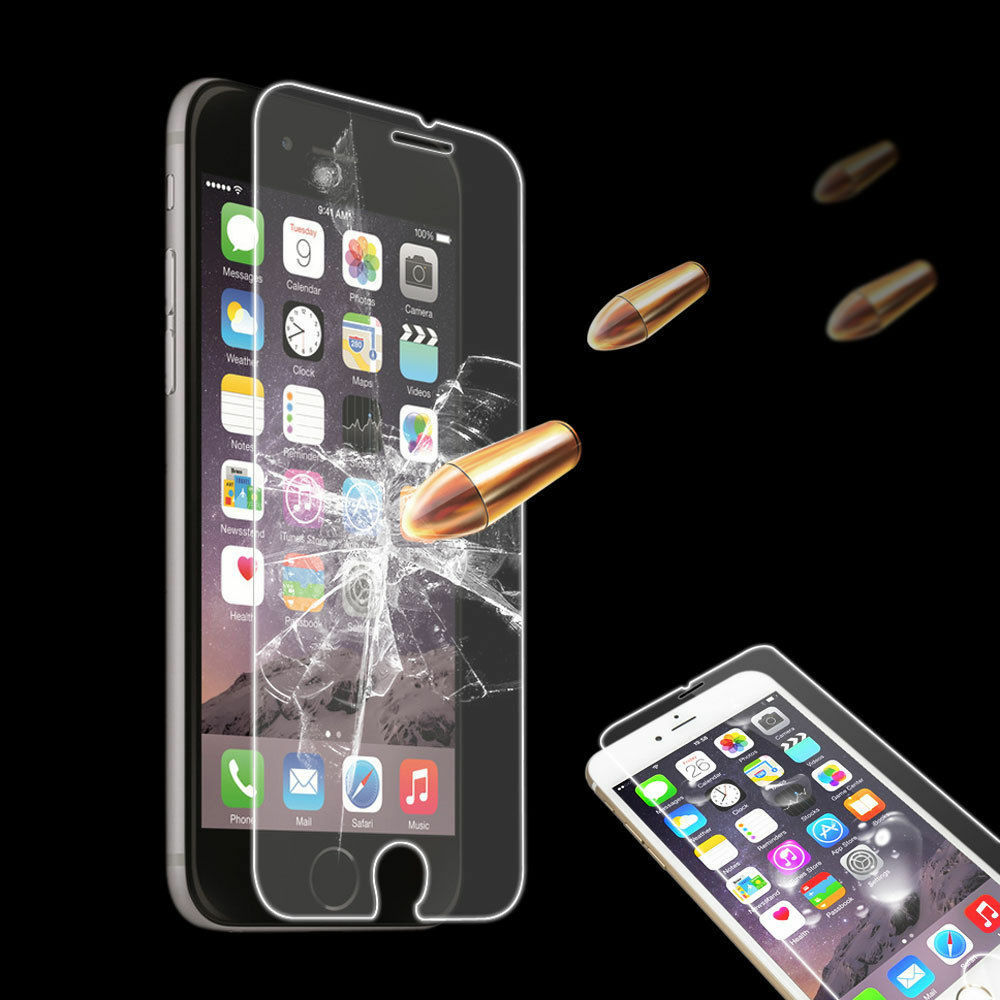 3D Real Premium Tempered Glass Screen Protector For IPhone 10 X 8Plus 7 Plus 6s