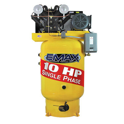 Emax Ep10v080v1 10 Hp 80 Gal. Vertical Electric Air Compressor New