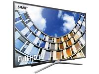 "Samsung Ue43m5520 43"" Smart Full HD LED TV. Brand new boxed complete can deliver and set up."