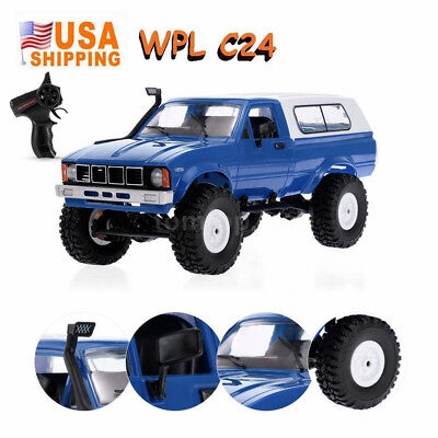 WPL C24 1/16 2.4GHz 4WD RC Car with Headlight RC Crawler Pic