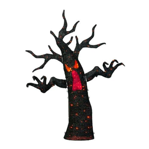 72 in. Halloween Animated Ghost Tree