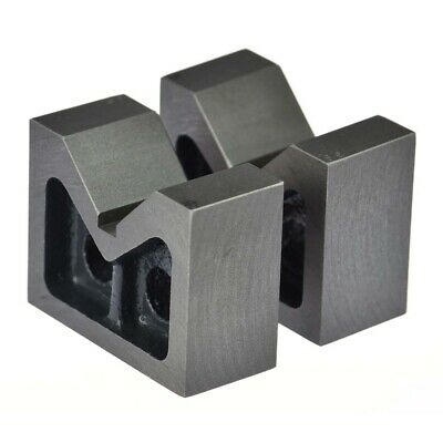 Cast Iron Vee Block 3 V Block 75 X 56 X 31 Mm Set Of 2 Pcswithout Clamp