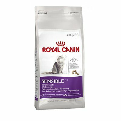 Royal Canin Sensible Cat Adult Dry Cat Food Balanced & Complete Cat Food 2kg