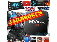KODI (XBMC) Fully Loaded 4K Quad Core Android 5.1 MXQ Pro TV Box Free HD Sports