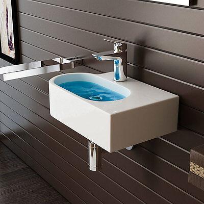 Design Keramik Waschtisch für Gäste WC Handwaschbecken Waschbecken