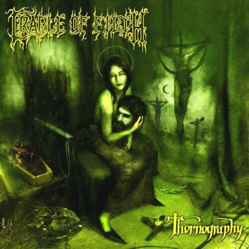 Cradle Of Filth Thornography 12x12 Album Cover Replica Poster Print