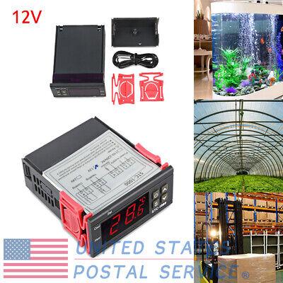 New 12v Digital Temperature Controller Thermostat Wntc For Greenhouse Aquarium