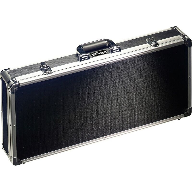 Stagg ABS Case for Guitar Effect Pedals Black LN