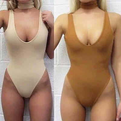 Sexy Women one piece bathing suit swimsuit Backless Swimwear Beach wear Jumpsuit