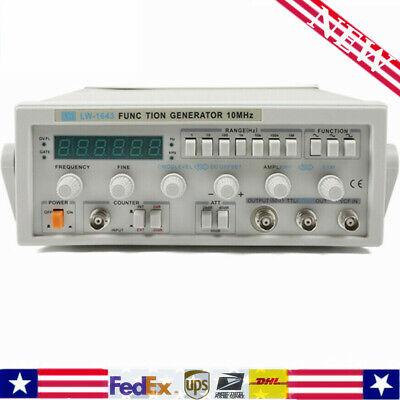 Lw-1643 Function Signal Generator 010v 0.1hz10mhz 50 10 Dc-1khz 100mvrms