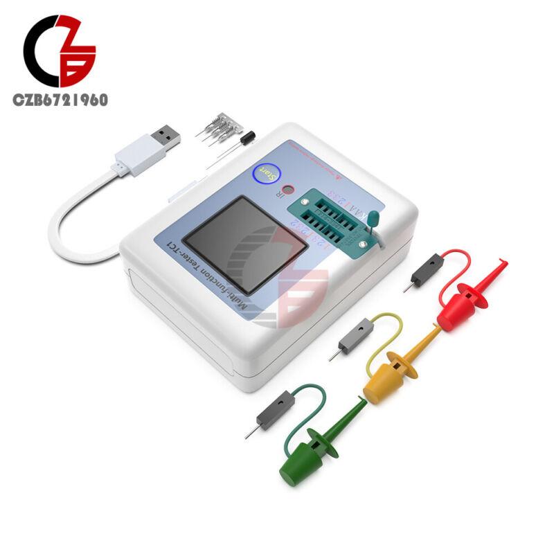 Transistor Tester TFT Diode Triode Capacitance Meter LCR-T6 ESR NPN PNP MOSFET