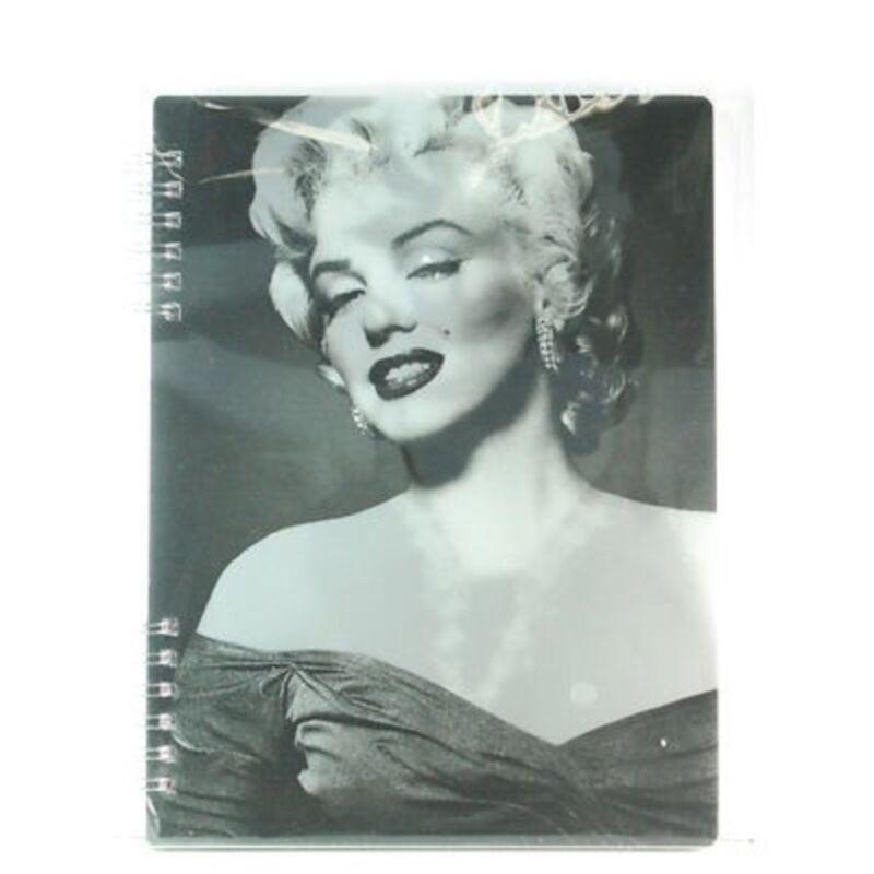 2X Vandor Marilyn Monroe Lenticular Spiral Notebook #70395 (733966056582)