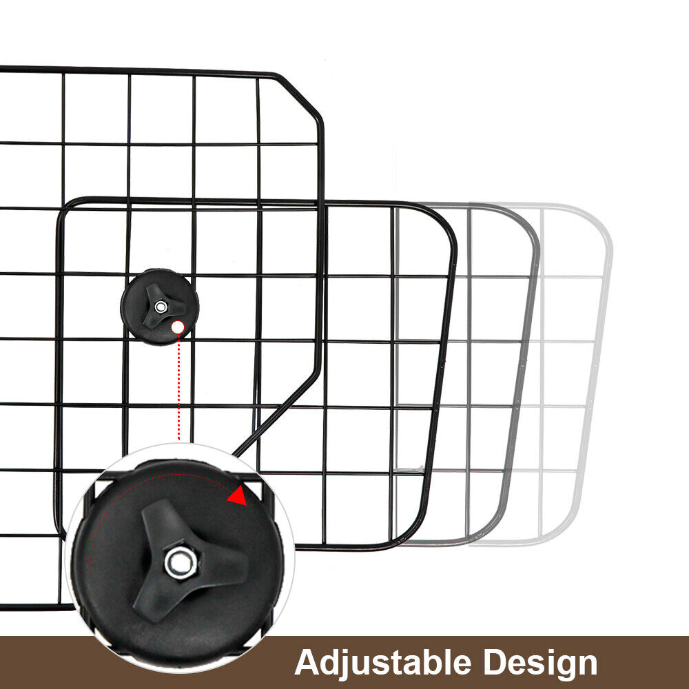 Adjustable Dog Pet Barrier Safty For SUV Vehicle Car Cargo Area Trunk Mesh Wire Car Seats & Barriers