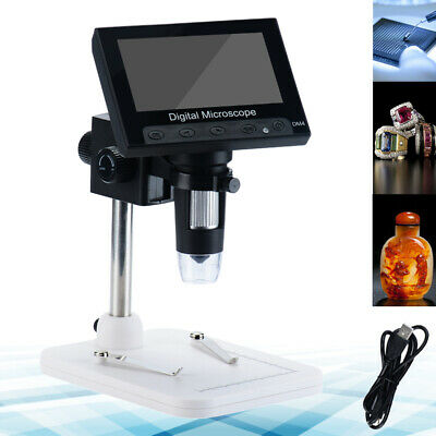 Quality 1000x 4.3 Lcd Monitor Electronic Digital Video Microscope Led Magnifier