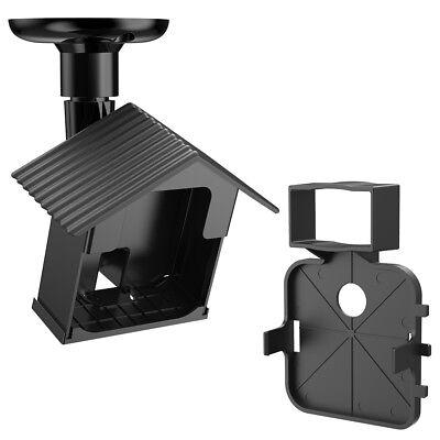 Black Outdoor Wall Bracket (Wall Mount Bracket Black for Blink XT Camera Outdoor/Indoor 360 Degree)