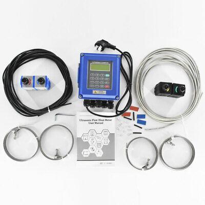 Tuf-2000b Ultrasonic Heat Meter Flowmeter Liquid Flow Meter Rs485 Modbus
