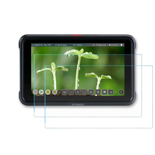 "Screen Protector for Atomos Ninja V 5"" Monitor, Anti-Scrach Tempered Glass-2Pack"