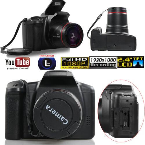 Digital Camera 3 Inch TFT LCD Screen HD Video Camera Record 16MP 1080P 16X Zoom