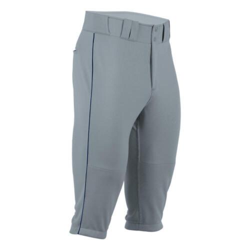 *NWT* Boombah Youth baseball pant X-SERIES PIPE KNICKER - Gray/Navy - 28 or XL
