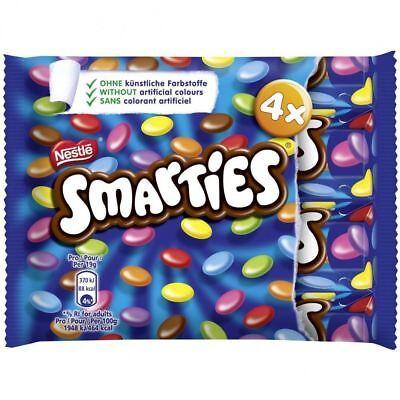 Nestle Smarties (4 Tubes) 4 x 38g - British Chocolate