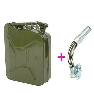 20 Liter Metallkanister Metall Benzinkanister Kraftstoffkanister 20 L Ausgießer