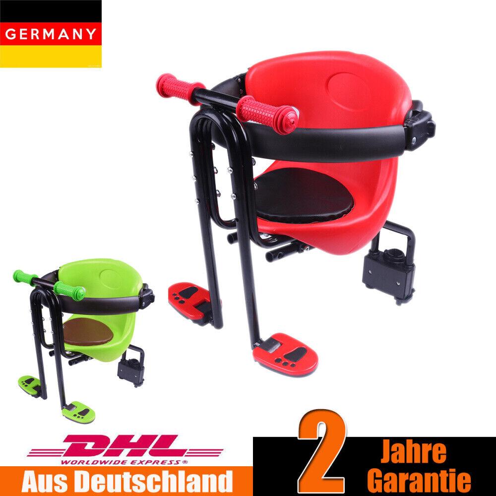 Fahrrad für Kindersitz Vorder Sitz Fahrrad Kinder vorne Frontsitz Handrail/&Pedal