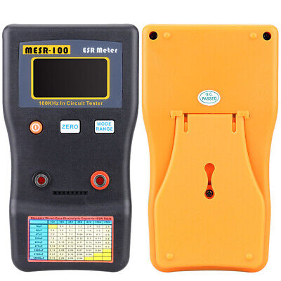 Professional MESR-100 ESR Capacitance Ohm Meter Capacitance Resistance Test
