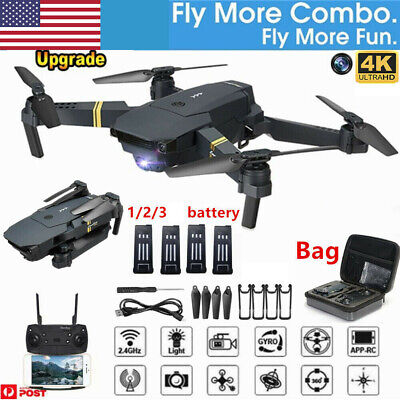 E58 4K HD Camera WIFI FPV 2.4G Foldable Selfie Drone RC Quadcopter HOT