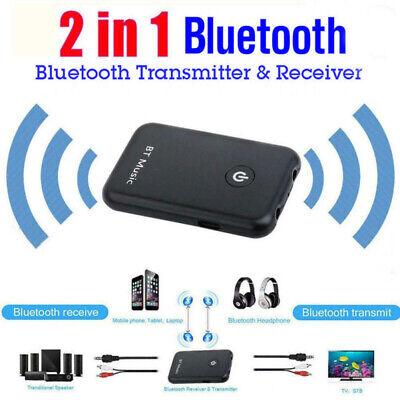 2in1 Bluetooth Transceptor sin Hilos Audio Emisor Recetor 3.5mm Música