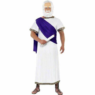 Sokrates Philosoph Kostüm Griechen 2-teilig Denker Karneval