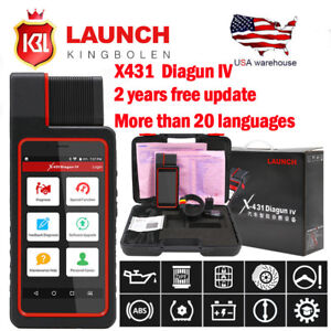 Launch X431 Diagun IV OBD2 Scanner Full System Auto Diagnostic Scanner Tool
