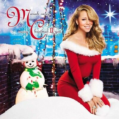 Mariah Carey Merry Christmas II You LP Vinyl NEW 2017