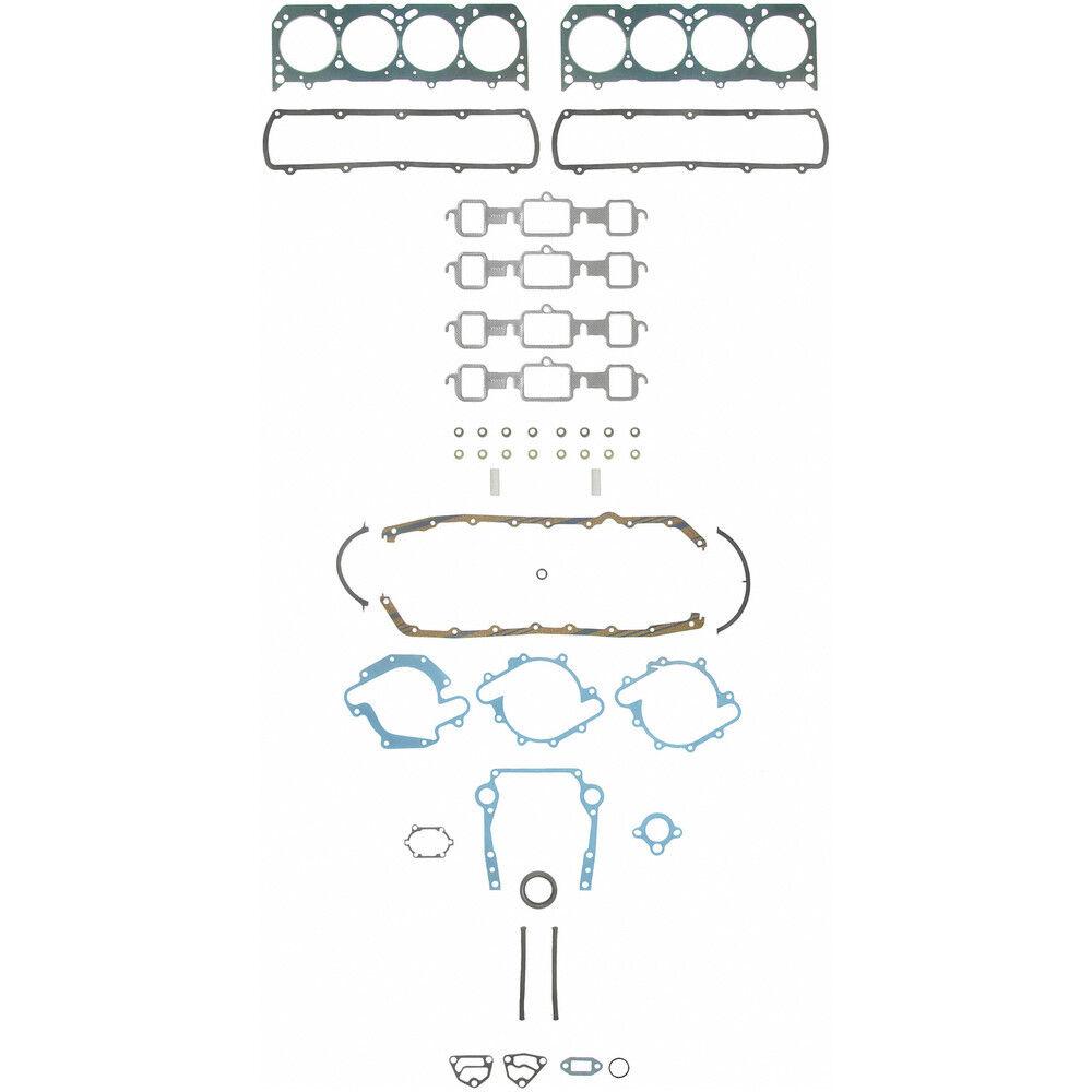 Fel-Pro KS2613 Engine Gasket Kit Oldsmobile 330 350 400 425 455