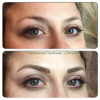 Get Microblading with expert permanent makeup artist