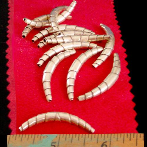 USA | Thai Karen Hill Tribe sterling WRAPPED TUBE silver bead | 2.95 grams | 97%