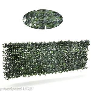 Siepe finta erba artificiale recinzione per balconi rete for Rete con foglie finte