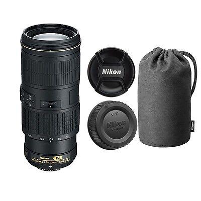 Nikon AF-S NIKKOR 70-200mm f/4G ED VR Lens for Digital SLR Cameras