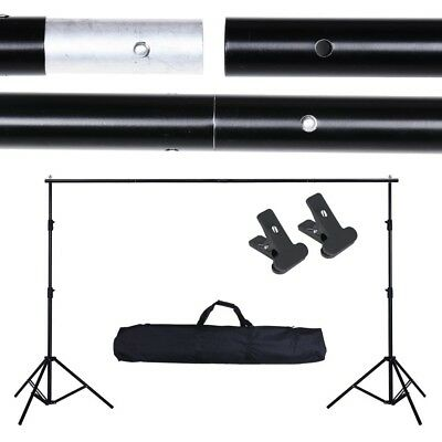 10ft Adjustable Backdrop Stand Photography Background Support Kit live stream