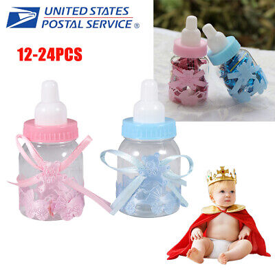 24x Baby Candy Bottle Box Shower Baptism Christening Birthday Gift Party Favors](Candy Baby)