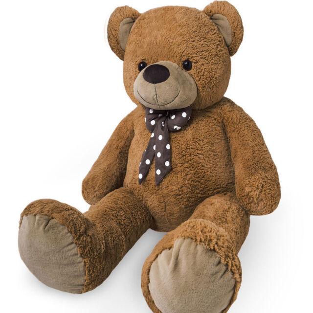 Giant Extra Large Teddy Bear Big XL Size Brown Huge Plush Soft Toy Cuddly Cute