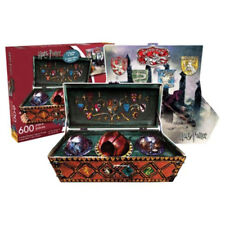Harry Potter Quidditch 2-In-1 600 Piece Puzzle