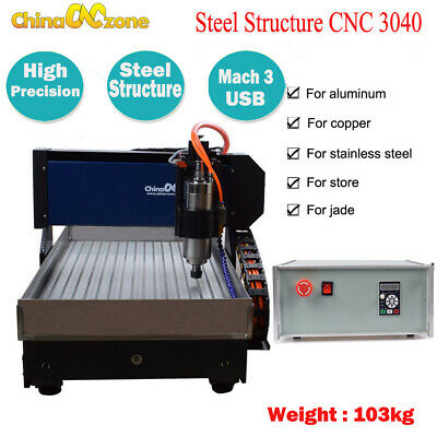 Cnc 3040z-dq 3axis Router Engraving Cutting Machine Usb Mach 3 Cnc Micro Machine