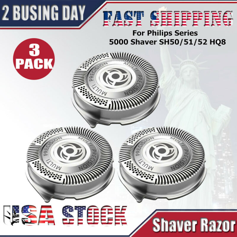 3x Shaver Razor Replacement Blades SH50/52 for Philips Norel